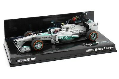 1/43 Minichamps Lewis Hamilton Mercedes AMG Petronas F1 W04 2013 USA GP F1 2018 d'occasion  Expédié en Belgium