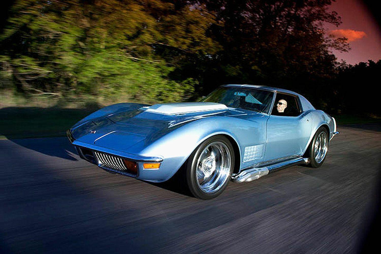 1972 Blkue Chevrolet Corvette     C3 Corvette Photo 1