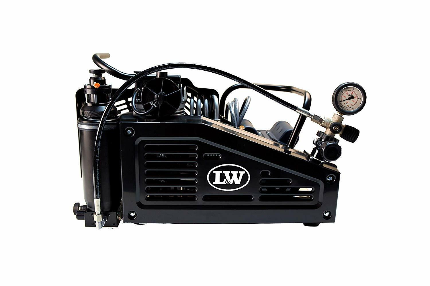 Photo LW 100 E Breathing Air Compressor for SCUBA SCBA Paintball Tank Fill
