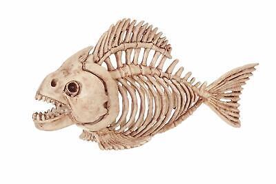 Halloween Prop Ideas (Fish Skeleton Piranha Crazy Bonez Spooky Halloween Ideas Decor Decoration)