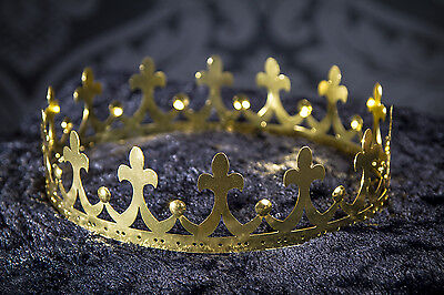 filigrane Krone Königskrone Krippenspiel Märchen gold edel Metall 126106013