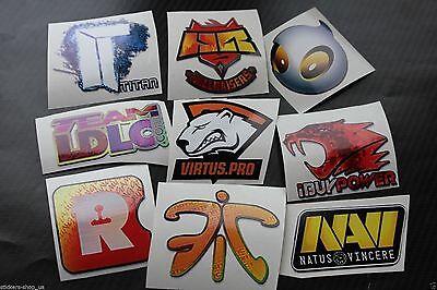 Stickers from CS GO Katowice 2014 Legends Set NaVi Fnatic iBuyPower Titan Reason