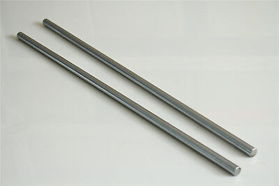 2pcs Cnc Linear Rail Shaft Rod Cylinder Optical Axis Od 8mm X 600mm