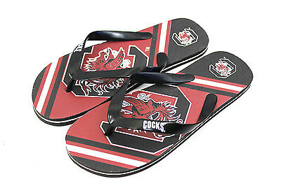 South Carolina Flip Flops - Official NCAA Licensed Big Logo Unisex Flip Flops ***South Carolina Gamecocks***