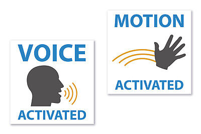Voice   Motion Activated Prank Stickers For Hilarious Jokes  Funny Gag Gift