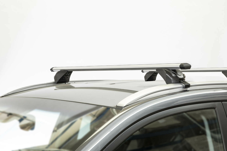 Dachbox MAA320L weißDachträger KING1 für Renault Grand Scenic IV 5Tür ab 17