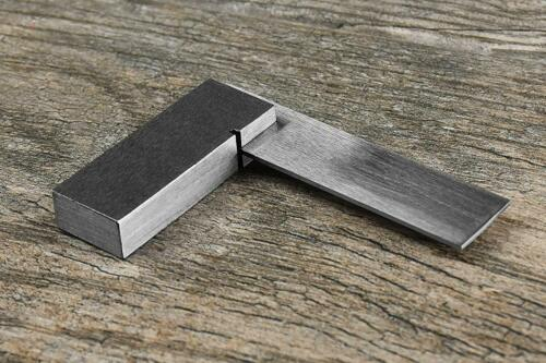 """2"""" Machinist Steel Square SE TS2 Design Layout for Hobby Crafts Jewelry Making"""