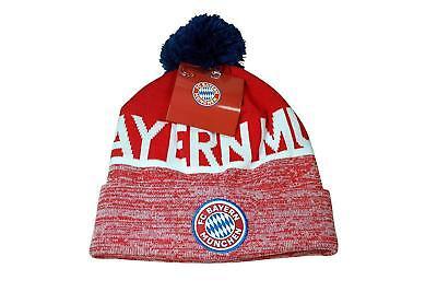 FC Bayern Munich pom beanie cap hat Soccer Football Official Merchandise style 3