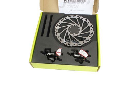 Juin Tech R1 Road Cyclocross Gravel Bicycle Bike Hydraulic Disc Brake Set Black