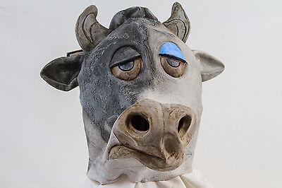 e Stier Latexmaske Maske Vollkopfmaske 126049013 (Stier Maske)