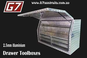 Aluminium Toolboxes with 2,4,5 and 6 Drawer Ute truck tool box Brisbane City Brisbane North West Preview