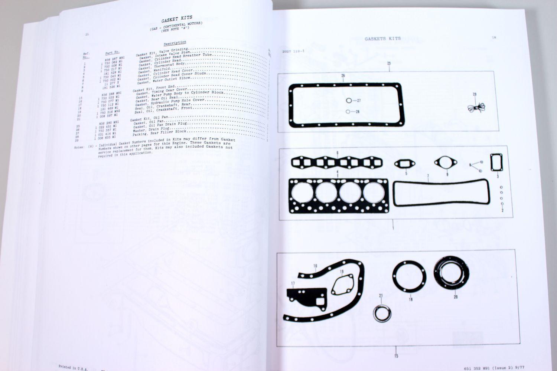 5 of 8 Set Massey Ferguson 235 Tractor Parts Service Repair Shop Manual  Workshop Mf235
