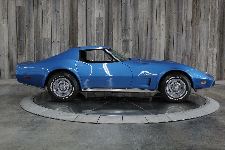 1975 Blue Chevrolet Corvette  L82   C3 Corvette Photo 5