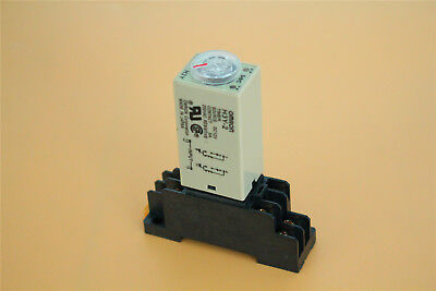 0-30s Second H3y-2 Delay Timer Time Relay Dc 12v W Base Socket