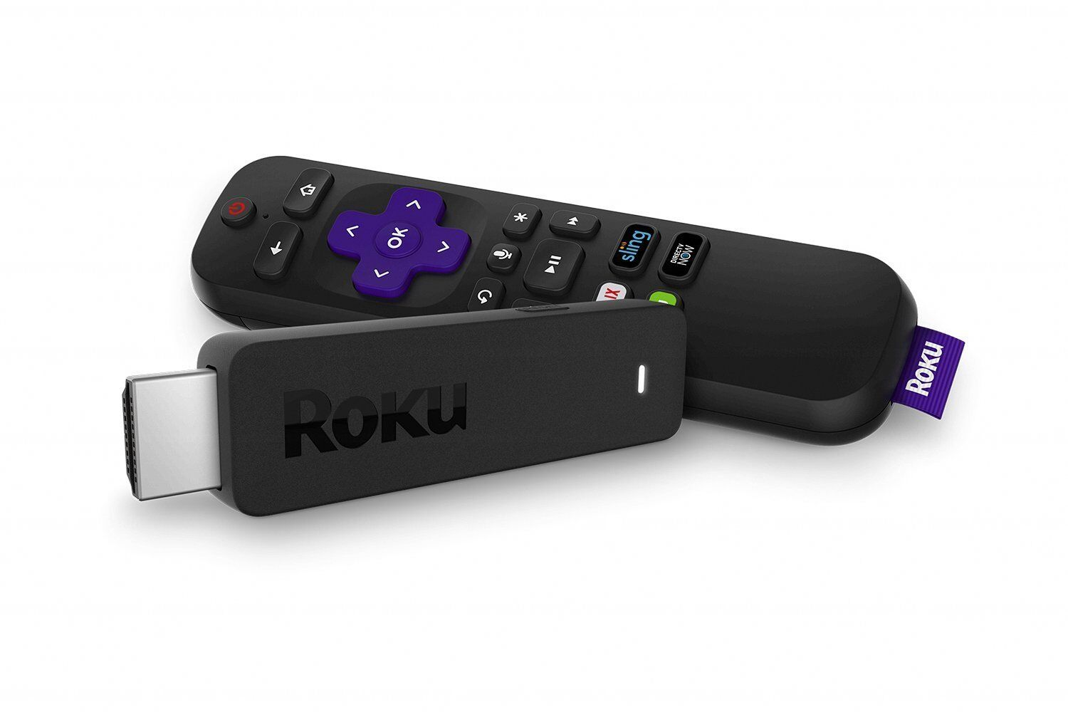 Roku Streaming Stick | Portable, Power-Packed Streaming Device with Voice Remote Consumer Electronics