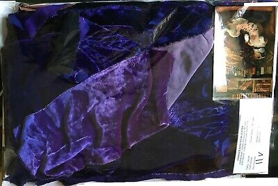 Art designer velvet fabric patchwork kits cushions tapestries throws pictures
