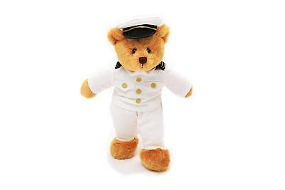 Plushland Adorable Teddy Bear Stuffed Animals Kids with US Military Navy Uniform - Adorable Stuffed Animals