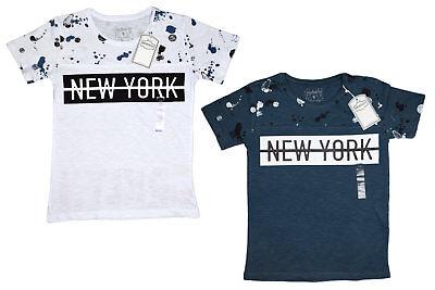 Brooklyn Kinder T-shirt (KINDER T-SHIRT JUNGEN SHIRT NEW YORK BROOKLYN STYLISH EINSCHULUNG SOMMER)