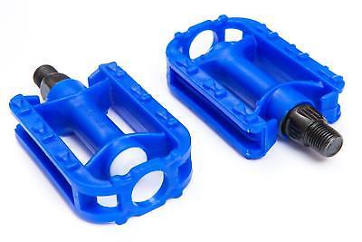 Azul Real Bicicleta Niños Pedales - Par de 1/2