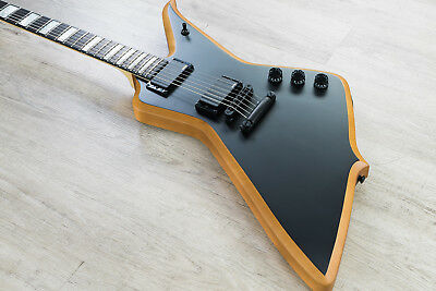 Wylde Audio Blood Eagle 6-String Solidbody Electric Guitar Mahogany Blackout