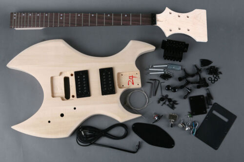 Kit DIY Guitar Electric Ax Linden - Unfinished Electric Guitar DIY Ax Style