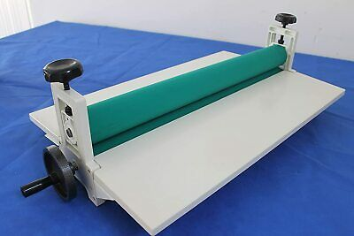 Cold Laminator Machine Manual Vinyl Photo Film Cold Laminator Hand Roller 14in