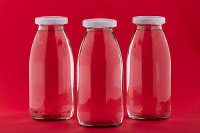 Glasflaschen 250ml Flaschen kleine Flasche Saftflasche Milchflasche Flasche-leer