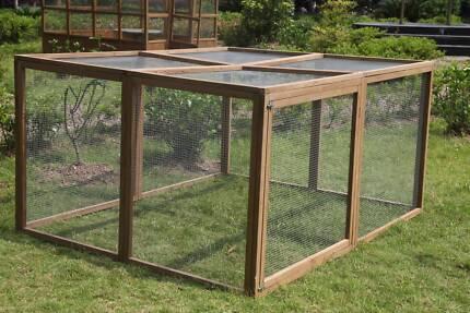 Chicken Coop Hen house Chook Hutch Cage Extension Run 200*160*100