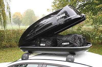 THULE Ocean 80 Car Roof Box Gloss Black Finish - 320 Litre Capacity