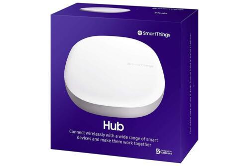 Samsung SmartThings Hub with Alexa, Zigbee, Z-Wave in White, 3rd Gen