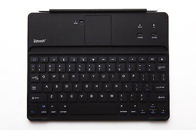 BrandNew Zotech Ultrathin Bluetooth Keyboard Aluminum Cover for iPad 2/3/4 Black
