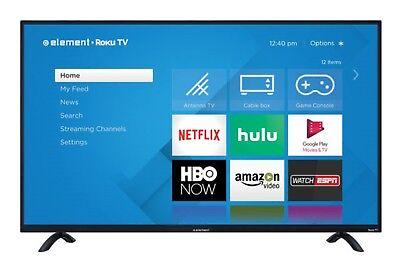 Element 50  Class 4K  2160P  Roku Smart Led Tv  E4sw5017rku