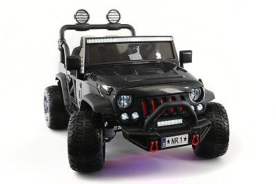 12V 2 Seater KIDS RIDE ON TRUCK SUV CAR JEEP 2 Powerful Motor,Rubber Tire+Remote for sale  USA
