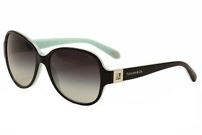 Tiffany Tf4046b Interchangeable Temple Insert Black Azure Sunglasses (Sunglasses Interchangeables Temples)
