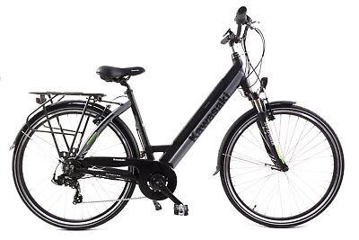KAWASAKI trekking E- BIKE da donna bicicletta ELETTRICO CON MOTORE E BATTERIA