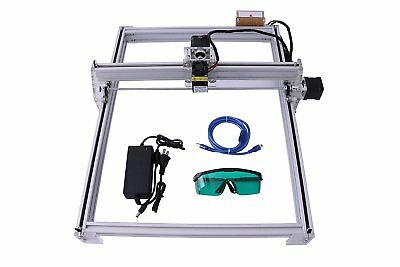 Diy Cnc Laser Engraver 500mw 40x50cm Wood Logo Marking Engraving Machine Diy Kit