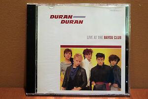 Duran Duran LIVE AT THE BAYOU CLUB (September 22, 1981) Genuine CD w/Interview