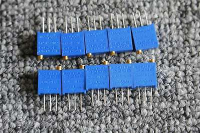 10pcs High Precision 3296w-202 2k Ohm Trim Pot Variable Resistor Potentiometer