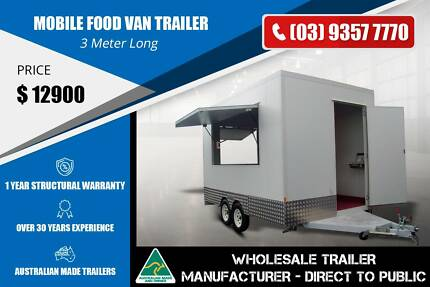 3 Meter Long Mobile Food Van Trailer Epping Whittlesea Area Preview