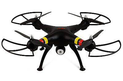 Syma X8C Venture with 2MP Wide Angle Camera 2.4G 4CH RC Quadcopter - Moonless