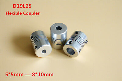 Aluminum Alloy Flexible Shaft Coupling for CNC Stepper Motor Coupler ID 5-10mm