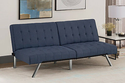 Convertible Sofa Full Size Bed Sleeper Futon Couch Living Room Modern Furniture