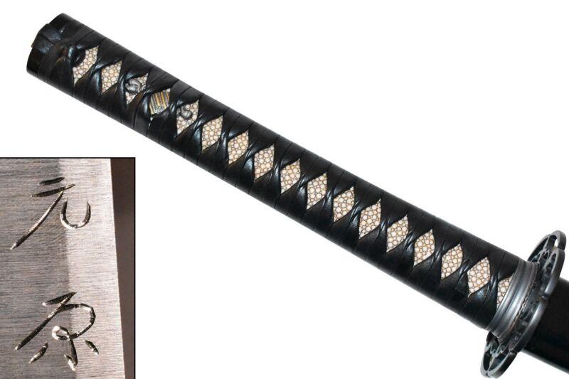*TAMESHIGIRI* Japanese Samurai Sword NIHONTO KATANA MINT CONDITION L6 STEEL