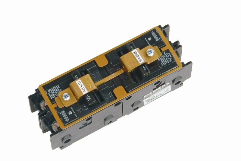 Siemens ECSBPK01 Standby Power, Manual Transfer Interlock