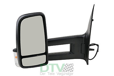 Mercedes Sprinter 906 Außenspiegel Spiegel Seitenspiegel Links Schwarz 05/09-