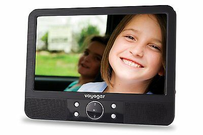 Voyager 9 inch In Car Portable DVD Player with Easy Fit Mount