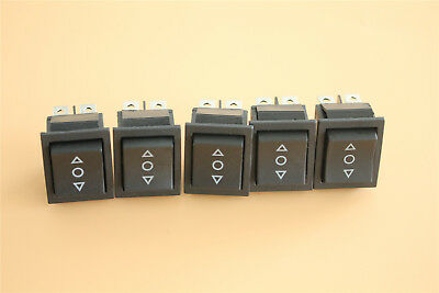 Us 10x 3-position On-off-on Momentary Boat Rocker Switch 6-pin 16a 250v Car