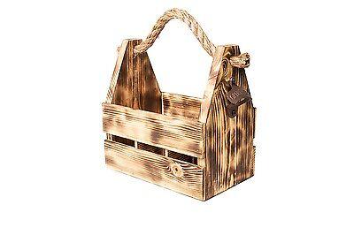 Wooden Six Pack Holder (Wooden Six Pack Holder / Tote /)