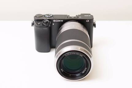 Sony Alpha A6000 Digital Camera with 55-210mm F4.5-6.3 OSS Lens