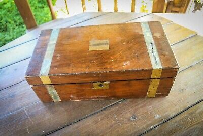 Antique -  9th Century - Rosewood - Writing Slope - Hidden Drawers - Large